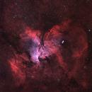 """NGC 6188 """"Feuervogel"""",                                Gerhart"""