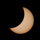 """Sun - Partial Eclipse 2015-03-20,                                Sebastian """"BastiH"""" Hinz"""