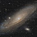 M31 - Andromèdre (PixInsight),                                ZlochTeamAstro