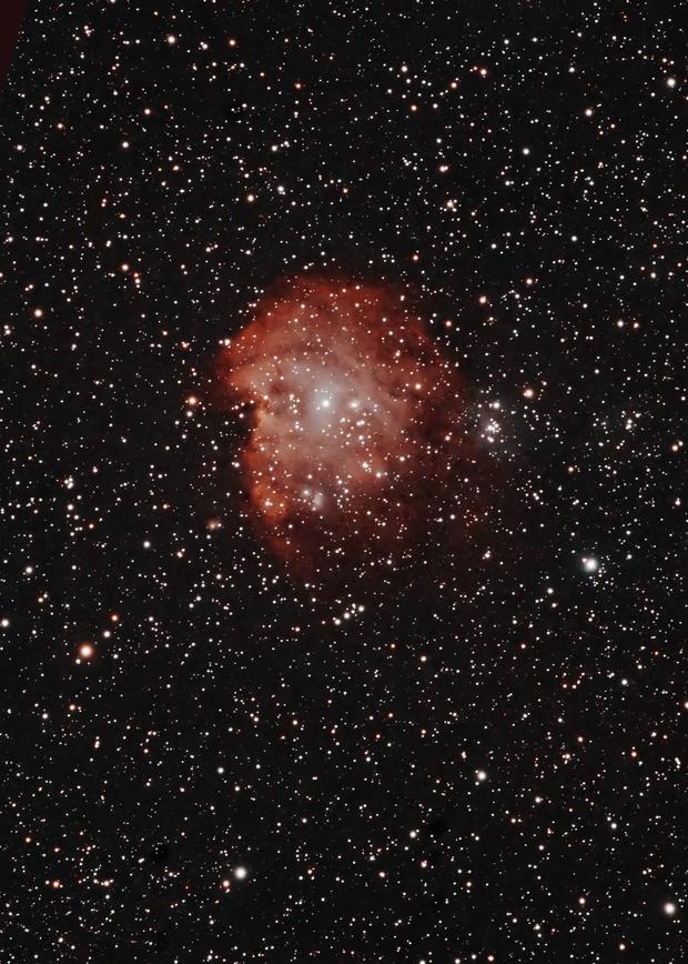 Monkey's head  - NGC 2174,                                Boutros el Naqqash