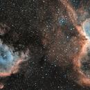 Mosaique IC1848-IC1805 H-RVB,                                ASTROIDF