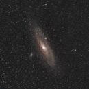 Andromeda Galaxy samyang 135mm f 2.8,                                Elmiko