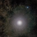 Jupiter and NGC 6401,                                andrealuna