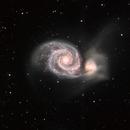 M51 (HaLRGB),                                Linda