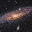 M31-Andromeda galaxy,                                Jean