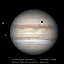Jupiter & three moons,                                Mason Chen