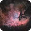 PacMan (NGC281) as an Ha-RGB composition,                                pete_xl