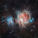 M42 Orion Nebula,                                star-watcher.ch