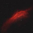 NGC 1499 California Nebula 20200914 7200s Ha-OIII 02.6.3,                                Allan Alaoui