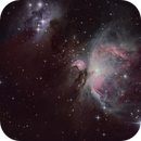 M42 Great Orion Nebula, my first serious attempt :-),                                Günther Dick