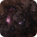 M8 and M20 Lagoon & Trifid Nebulae Region,                                Geoff Scott
