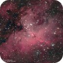Eagle Nebula (M16) with the Pillars of Creation,                                Lopes Maicon