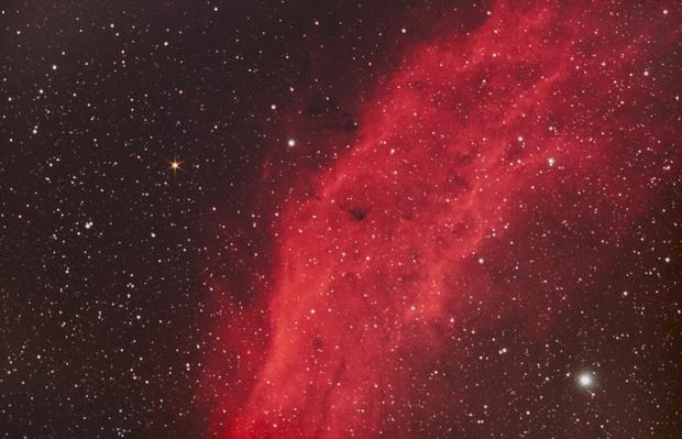 NGC 1499,                                Marie