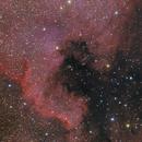 North America and Pelican Nebula,                                Andreas Reifke