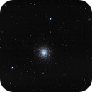 M13 Hercules globular cluster (with 350D just before its death),                                StarGale