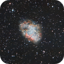 Crab Nebula First Light,                                Marlon