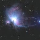Orion Nebula,                                Sean Heberly