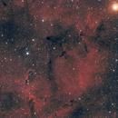 IC 1396 - Nébuleuse de la trompe d'éléphant,                                Ludovic