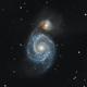 M51 Galaxie du tourbillon,                                Derthe Jérémy