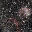 Gabriela Mistral Nebula NGC 3324,                                Carlos Taylor
