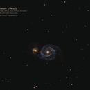 M51 Whirlpool-Galaxie,                                HektoPascal