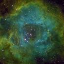 C49 Rosette Nebula-SHO- image by Irving Pieters,                                Adel Kildeev
