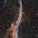 NGC 6960  Bi Color,                                John Leader