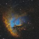 Ngc 281 Pacman Nebula - Hst Palette,                                elvethar