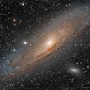 Andromeda Galaxy - M31, M32, M110,                                Paul H
