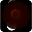 Moon and ombra of Earth,                                Ariel
