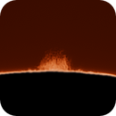 Sol in Ha - Prominence on north west limb,                                hughsie