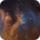 SH2-199 Part of Soul nebula,                                Verio