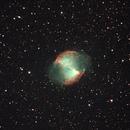 Dumbbell Nebula - 7/9/16,                                David Johnson