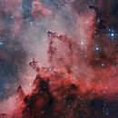 IC 1805 Heart Nebula cropped,                                Roberto García