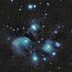 M45 Pleiades open star cluster,                                Igor Lamberti