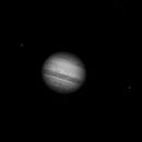 Jupiter et deux Satellites - Jupiter and two Satellites,                                Astroluc63