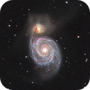 M51 - The Whirlpool - LHaRGB,                                Ron