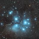 The Pleiades - Learning PixInsight,                                Damien Cannane