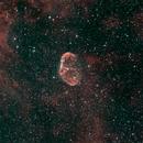 Crescent Nebula NGC6888,                                David Quattlebaum