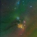 Rho Ophiuchi With Airglow,                                David McGarvey