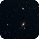 Messier 81 and 82 with NGC 3077,                                MJF_Memorial_Obse...