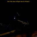 ISS et Vénus confinée dans les Pléiades,                                Pouget