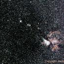 Eta Carinae (η Car) & NGC3293                                   18º above horizon - 01 Mar 2014,                                Jesús Piñeiro V.