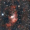 Bubble Nebula,                                Nikolaos Karamitsos