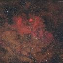 "Sh2-54 ""Scary Face Nebula"",                                Leonardo Ciuffolotti"