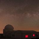 Via Lactea sobre el Telescopio Mons,                                J_Pelaez_aab