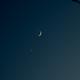 Moon and Venus,                                Sonia Zorba