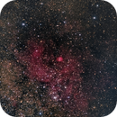 Sharpless2 54 (AKA The Nest) LRGB in LP Site one Night's Images,                                jerryyyyy