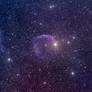 EZ Canis Major in OIII-LRGB,                                Nikola Nikolov