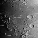 Vallis Alpes and Cassini crater area,                                Miroslav Kalinaj